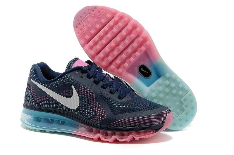 Discount Nike Air Max 2015 Woman Running Shoes - Deongaree Pink Moonlight YM539172